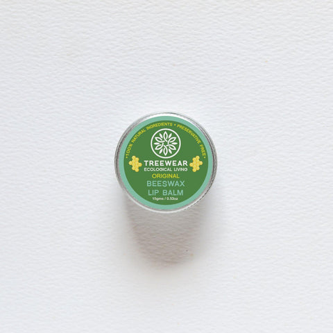 Natural Wax Lip Balm - Unscented