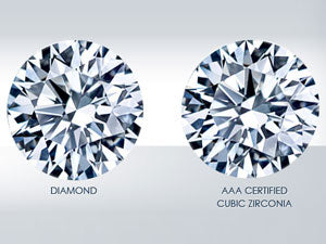 What is the difference between Cubic Zirconia and Diamond?