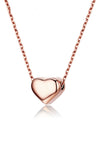 Amora Simple Love Rose Gold Necklace