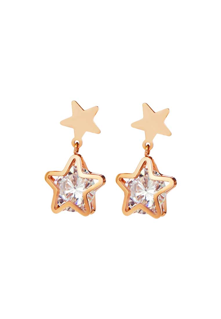 Avvia Zirconia with Iconic Star Drop Earrings