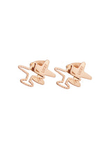 Skye Lucky Travel Double Airplane Stud Earrings