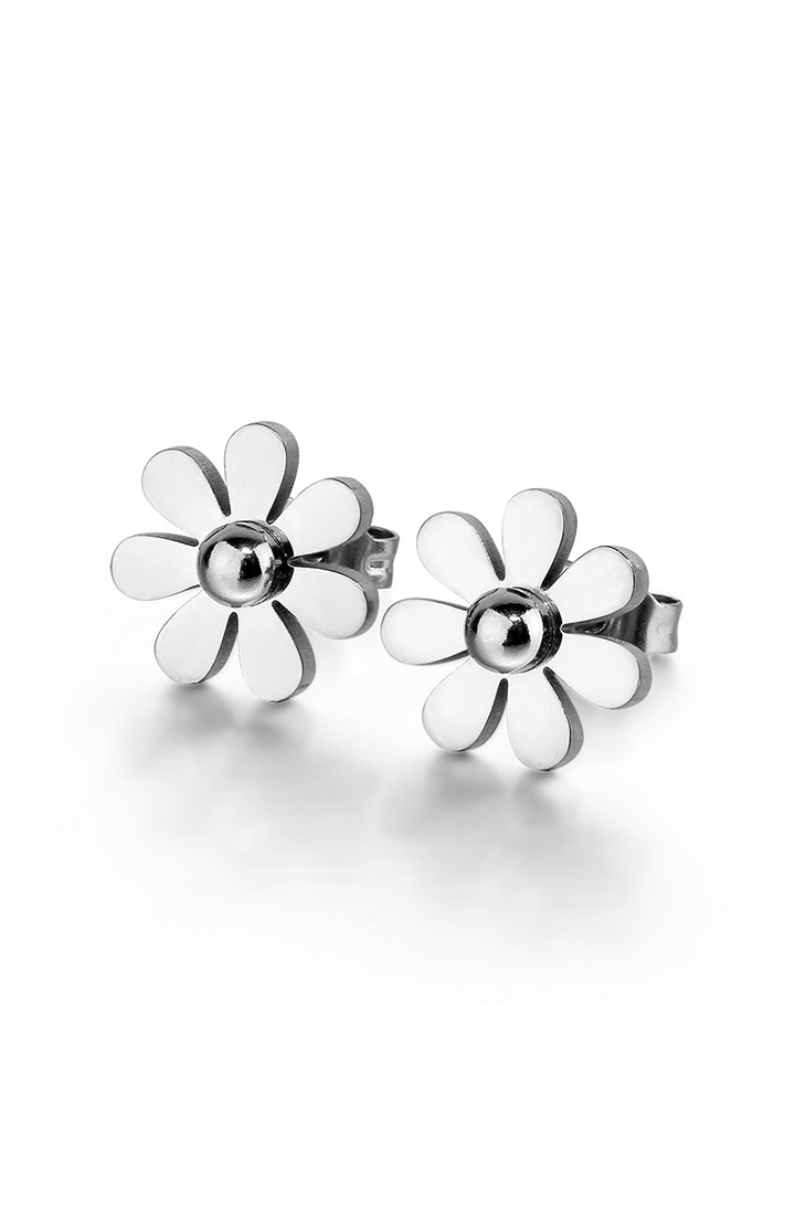 Daisy Dainty Flower Stud Earrings