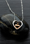 Lovanna Floating Heart Necklace