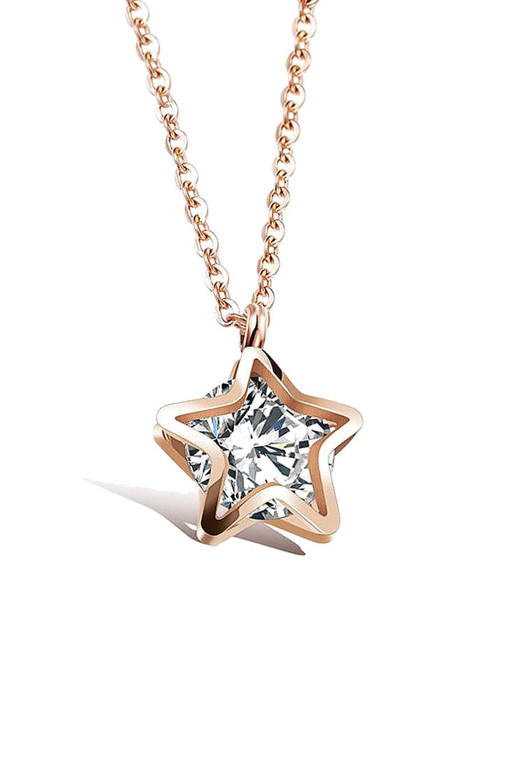 Avvia Zirconia with Iconic Star Necklace