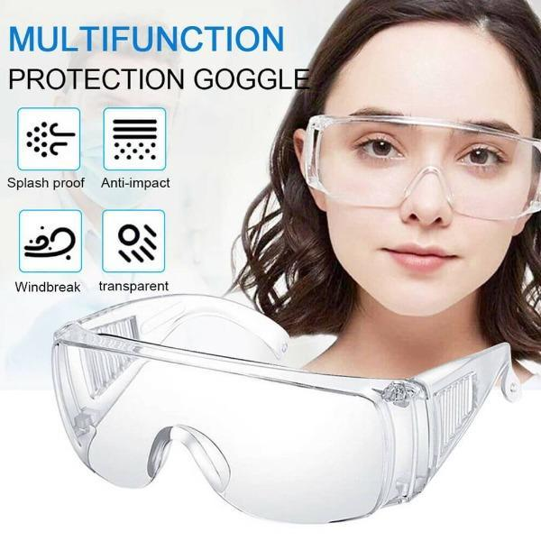 Double-Coated Lens Protective Safety Goggles