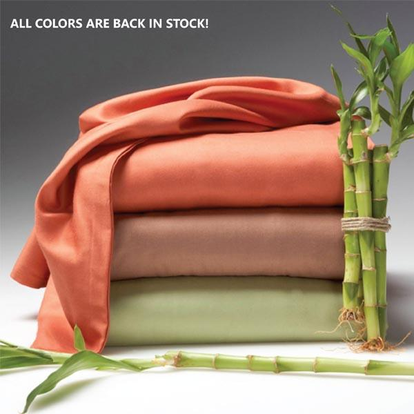 Luxury 6-Piece Super Soft Deep-Pocket Bamboo Bed Sheet Set - Assorted Colors