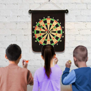 Roll-Up Double Sided Dart Board