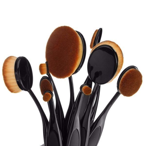 8upsell - 10 Piece Oval Brush Set - EXCLUSIVE VIP CUSTOMER OFFER