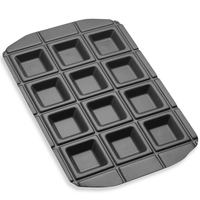 8upsell - EZ Pockets: 4-Piece Non-Stick Steel Baking Kit