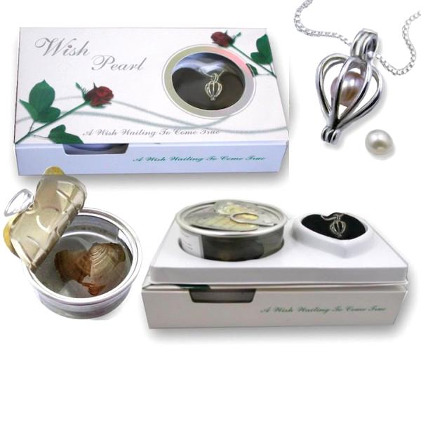 8upsell - Luxury Wish Pearl In Oyster Necklace Gift Set - EXCLUSIVE VIP CUSTOMER OFFER