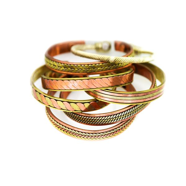 8upsell - Magnetic Copper Unisex Bracelet Bangle For Pain Relief Therapy