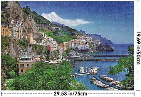 """ALMALFI COAST"" - 1000 Pieces Jigsaw Puzzle"