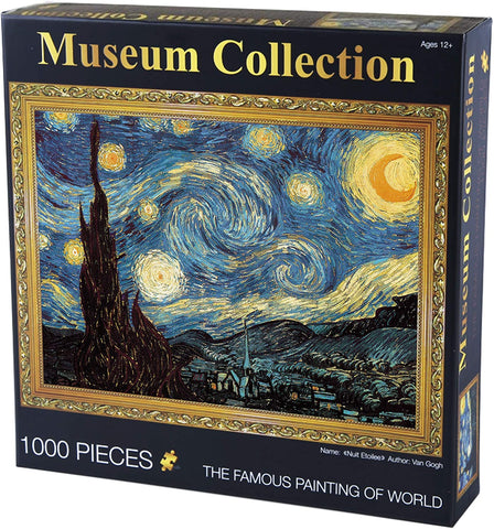 """THE STARRY NIGHT"" - 1000 Pieces Jigsaw Puzzle"