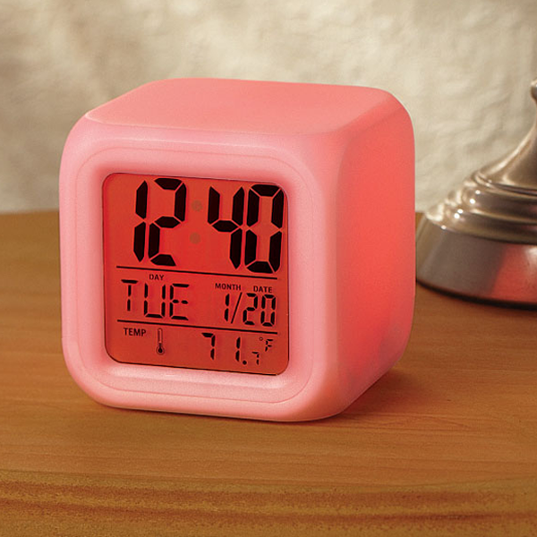 Mood Changing Digital Alarm Clock