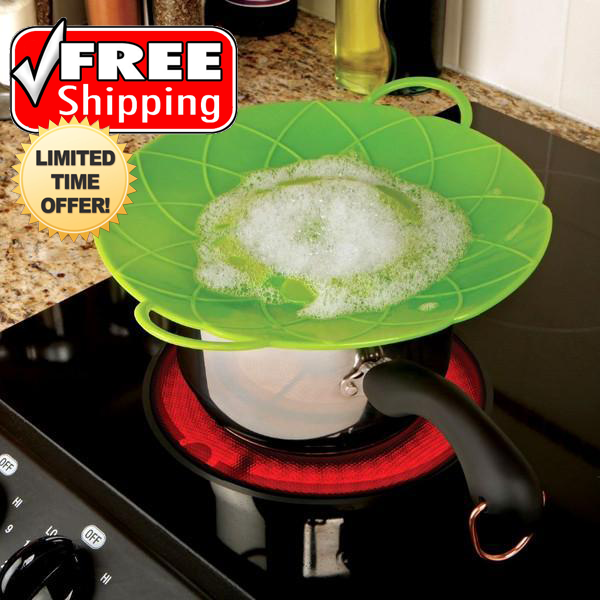 2 Pack: Multi-Purpose Lid Cover and Spill Stopper - FREE SHIPPING For A Limited Time Only!