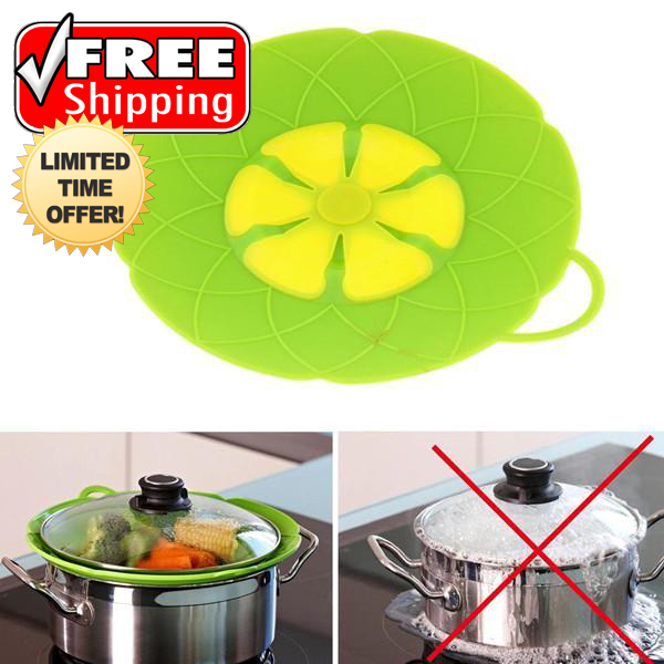 Multi-Purpose Lid Cover and Spill Stopper - FREE SHIPPING For A Limited Time Only!