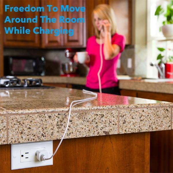 FREE GIFT - 10 Ft Charging Cables For iPhone & Android
