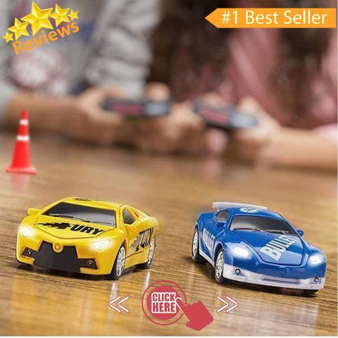 Pocket-Size Remote Controlled Mini Race Cars