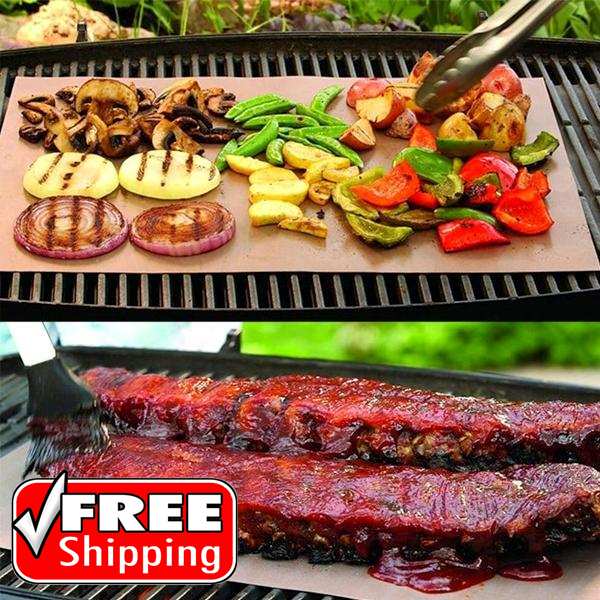 Copper-Infused Grilling & Baking Mats - FREE SHIPPING!