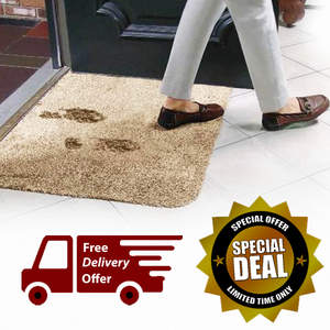 2 Pack: Super Absorbent Clean Step Doormat