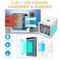 Portable Color Changing Personal Space Cooler, Humidifier & Purifier