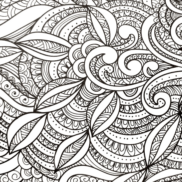 - Adult Coloring Book - Everyone Loves Coloring Patterns – EFizzle