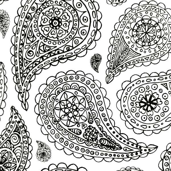 all deals adult coloring book everyone loves coloring patterns - Coloring In Patterns
