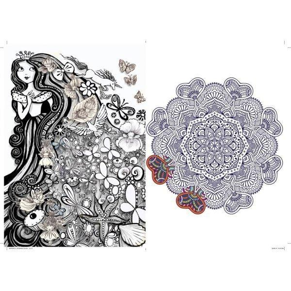 All Deals - Art Therapy Coloring Book Mandalas & More