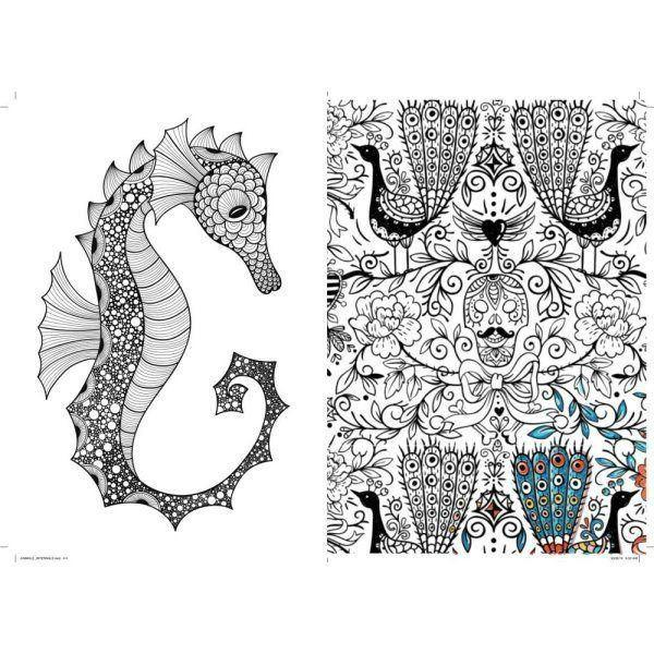 Art Therapy Coloring Book - eFizzle