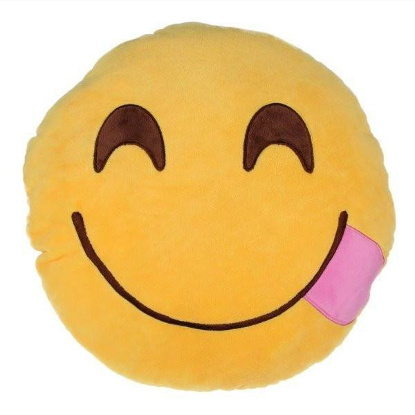 All Deals - Emoji Yummy Face Cushion Pillow