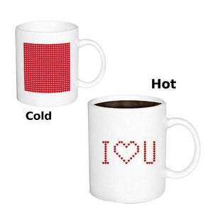 All Deals - I LOVE YOU Pattern Changing Mug