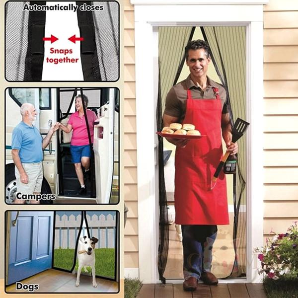 Superieur Instant Mesh Guard Magnetic Screen Door U2013 EFizzle