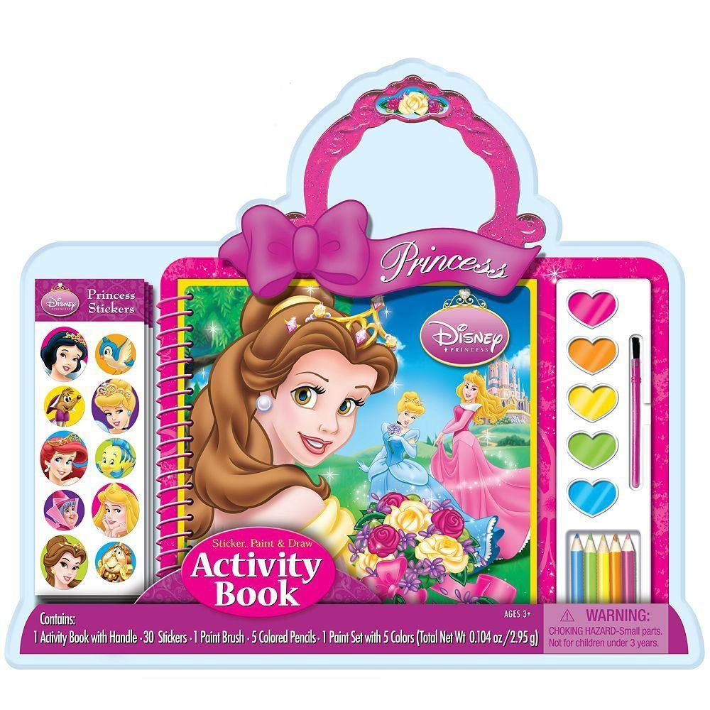 All Deals - PRINCESS (Disney) - Activity Book