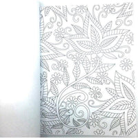 All Deals - Set Of 4 Adult Coloring Books - Floral Theme