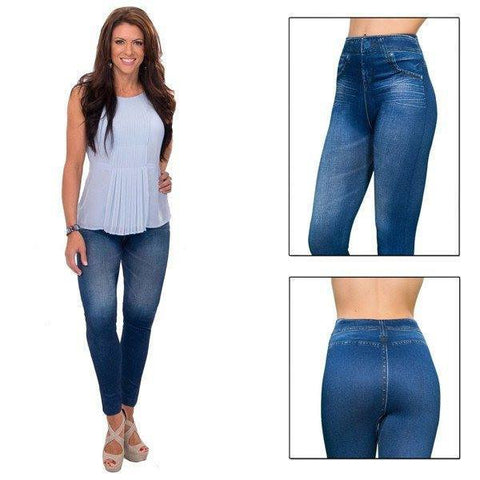 All Deals - Slim N' Lift Jeans - Available In Black And Blue