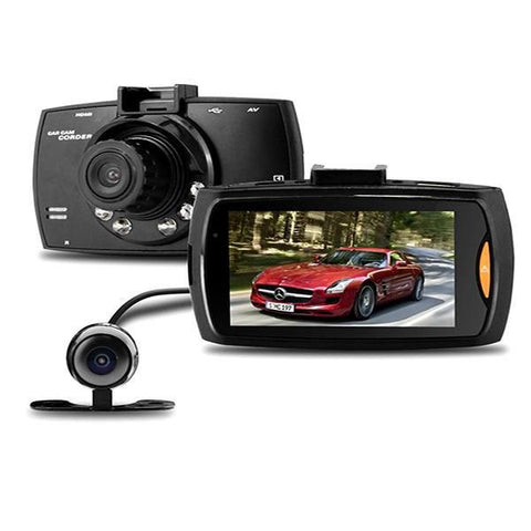 Automotive - 1080P Full HD Car DVR System With Front And Rear Camera