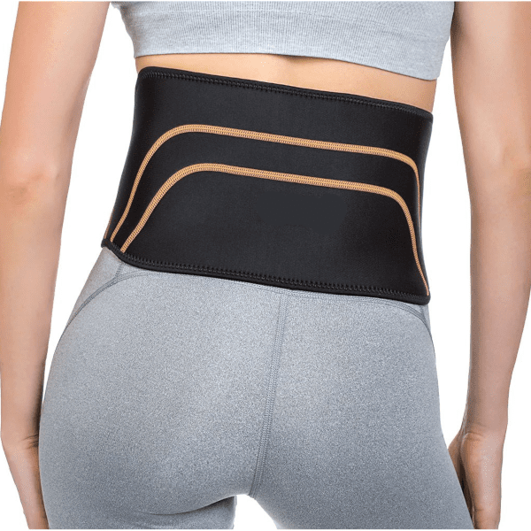 Back Support Compression Garment W/ Beaded Gel Packs