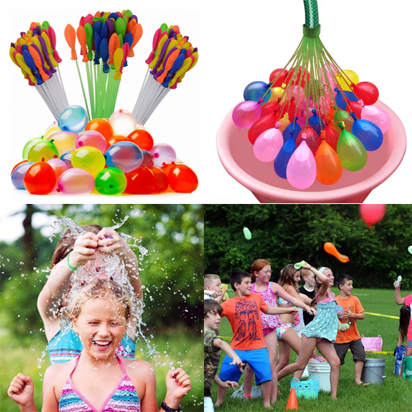 5 Pack: Rapid-Fill Magic Water Balloons + FREE SHIPPING