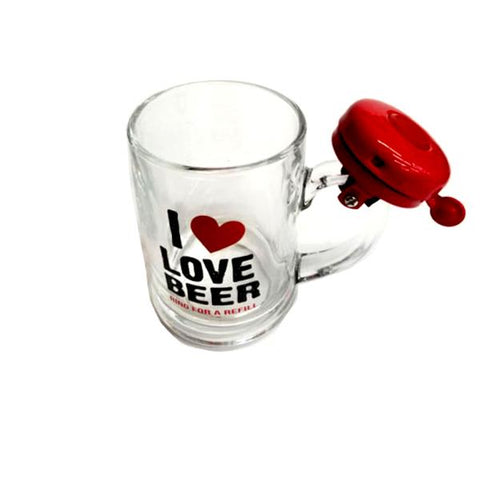 Bar Accessories - Novelty Beer Mug With Ringing Bell