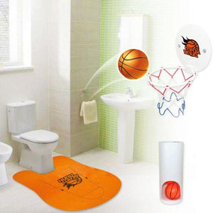 Bath - SLAM DUNK! - Mini Basketball Bathroom Game!