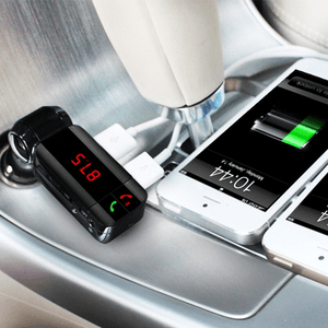 Bluetooth Car Charger & FM Transmitter