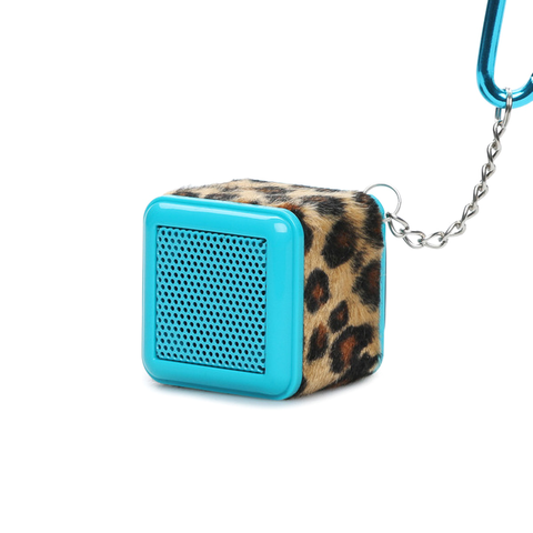 Boom Cube Portable Keychain Speaker with Built-In Amplifier