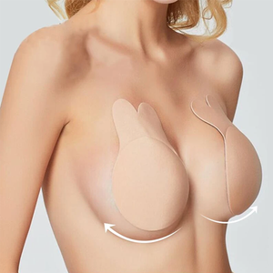 Sticky Silicone Strapless Push-up Bra