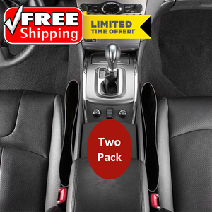 2 Pack: Car Seat & Console Gap Organizer - FREE SHIPPING For A Limited Time Only!