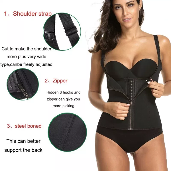 Sauna Sweat Waist Trainer Vest - 5 Sizes Available