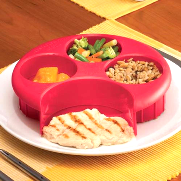 Meal Measuring Plates - 2 Colors Available