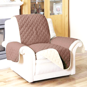 Water Resistant Quilted Reversible Recliner Protective Cover