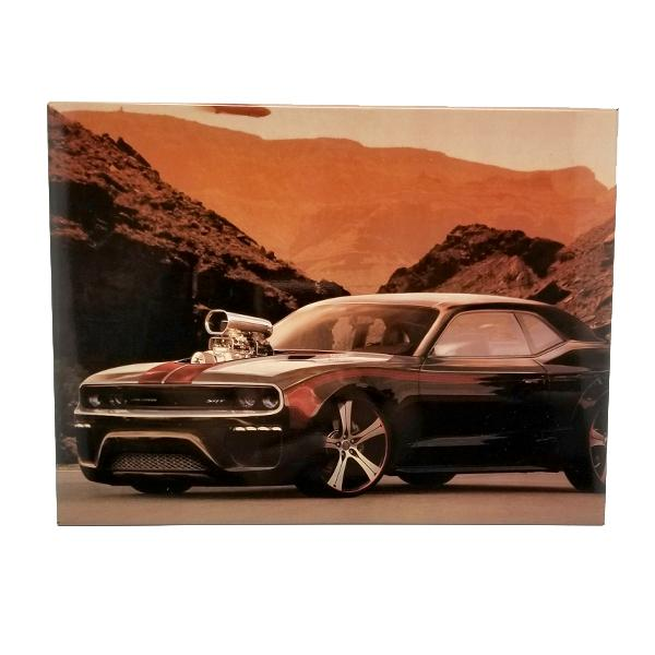 Decor - Challenger Street & Racing Muscle Vintage Collectible Metal Wall Decor Sign