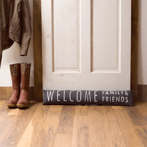 """Welcome Family & Friends"" Door Stopper"