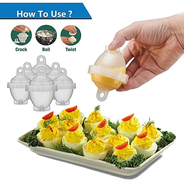 Set Of 6: Egg Boiler Kit - FREE SHIPPING For A Limited Time Only!